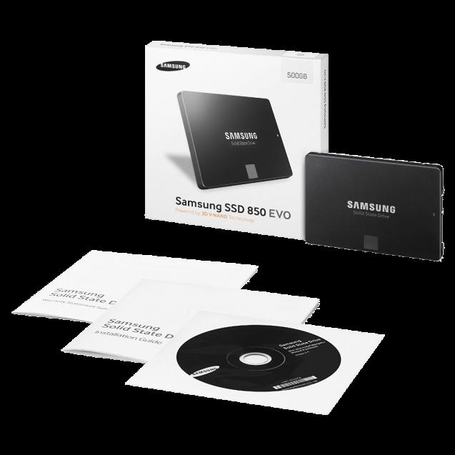 Samsung 850 EVO 500GB 2.5 Inch SATA III Internal SSD